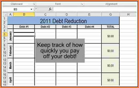 Debt Reduction Excel Spreadsheet by 7 Debt Reduction Spreadsheet Excel Spreadsheets