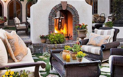 beautiful Built In Room Dividers #1: two-sided-outdoor-fireplaces-seating-areas-2.jpg