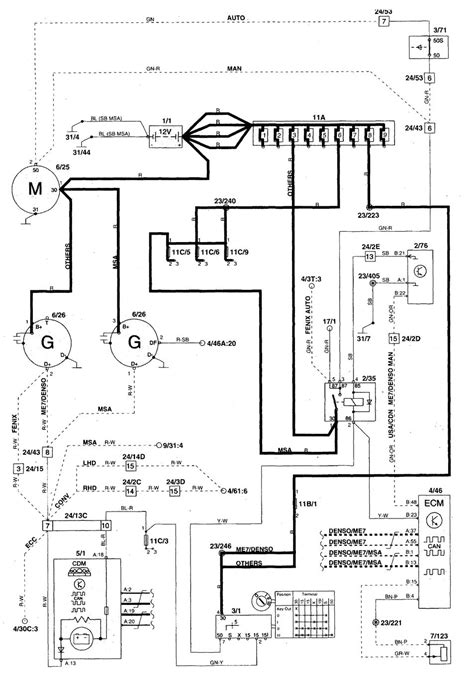 volvo c70 1999 2004 wiring diagrams charging