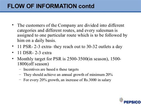 Uhd Mba Supply Chain Management Salary by 35492024 Supply Chain Management Pepsi