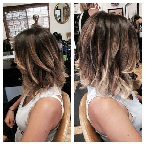 Hairstyles 2017 Bob Lob 10 balayage hairstyles for shoulder length hair medium