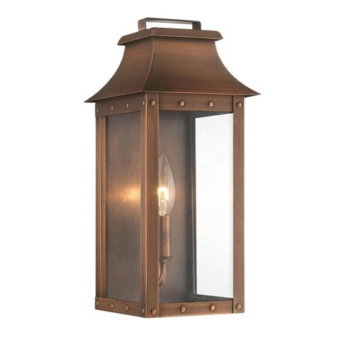 copper wall lantern acclaim lighting manchester collection 1 light copper