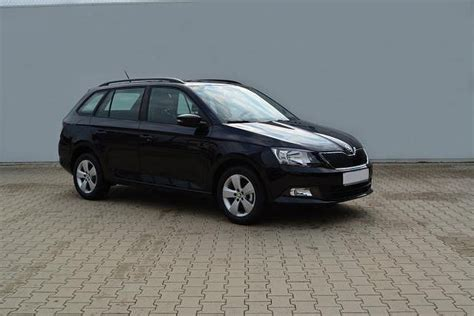 skoda black magic skoda fabia combi black magic perleffekt