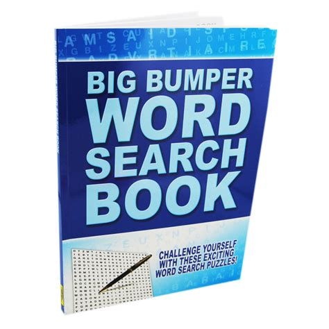 Search On Book Big Bumper Word Search Book Wordsearch Books At The Works