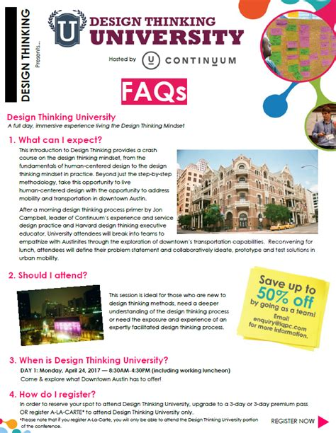 Design Thinking University | design thinking university faqs