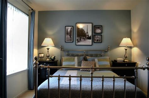 pictures of accent walls in bedrooms it could be the soft blue accent wall or the photos of a lazy design inspiration