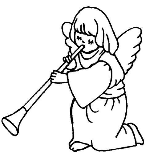 angel outline coloring page angel outline clip art clipart best