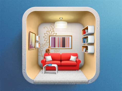 Interior Design Icons dribbble icon for interior design applicaion by artua