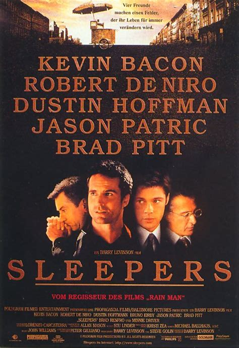Kevin Bacon And Robert De Niro Filmplakat Sleepers 1996 Filmposter Archiv