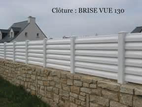 Brise Vue Pvc Blanc 7787 by Cl 244 Ture Pvc Brise Vue Sur Mesure Habitat Discount