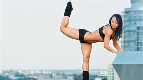 wallpaper 4k hot girl yoga posture of girl 4k wallpaper hd