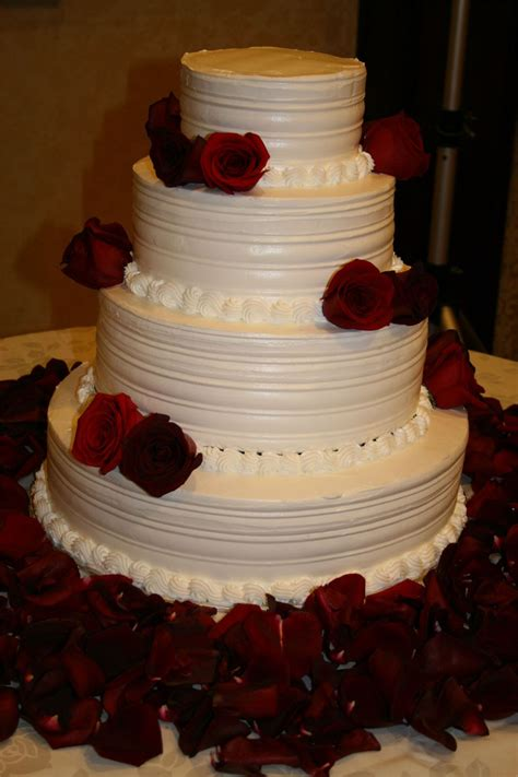 wedding tier cake wedding cakes pictures four tier roses wedding cake