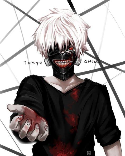 Kaos Tokyo Ghoul Ken Kaneki Mask Aogirikaneki Re Spade Anime kaneki tokyo ghoul by hirokiart on deviantart