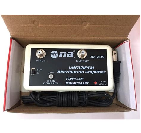 db antenna vhf uhf cable amplifier signal booster