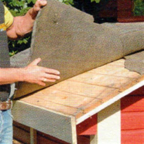 Dach Mit Bitumenbahnen Decken 4603 by Dach Decken Mit Bitumenpappe Das Dach Decken