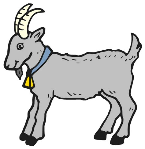 cute billy goat clipart clipground