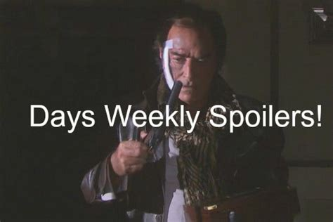 day spoiler days of our lives dool spoilers week of january 25