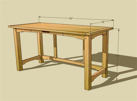 Computer Desk Plans Pdf Diy Computer Desk Plans Dimensions Craftsman