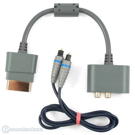 Adaptor Xbox 360 Original Xbox 360 Original Audio Adapter Toslink Kabel Kaufen