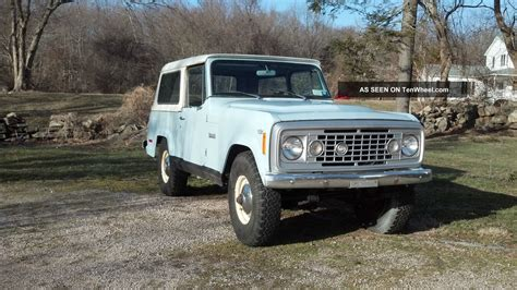 1973 Jeep Commando Removeable Hard Top