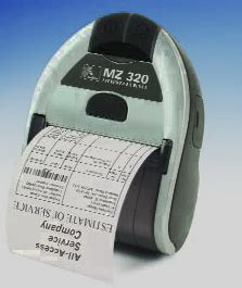 Printer Zebra Mz320 rfid printers ticket printers and mobile printers