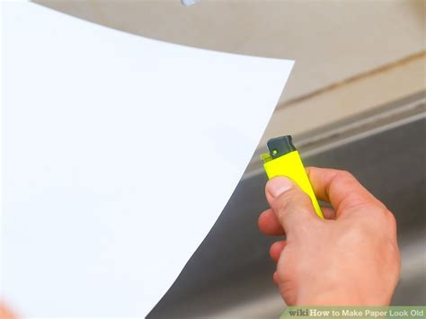 Ways To Make Paper Look - 5 simple ways to make paper look wikihow