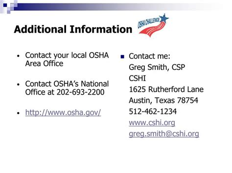 Local Osha Office by Ppt Osha Challenge Pipeline To Vpp Powerpoint