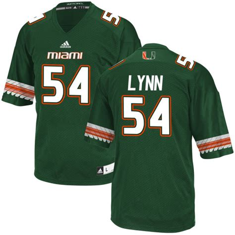 miami hurricanes fan gear colton lynn jersey jerseys for men women and youth