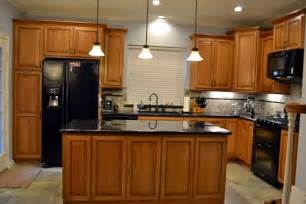 cherry custom kitchen cabinets