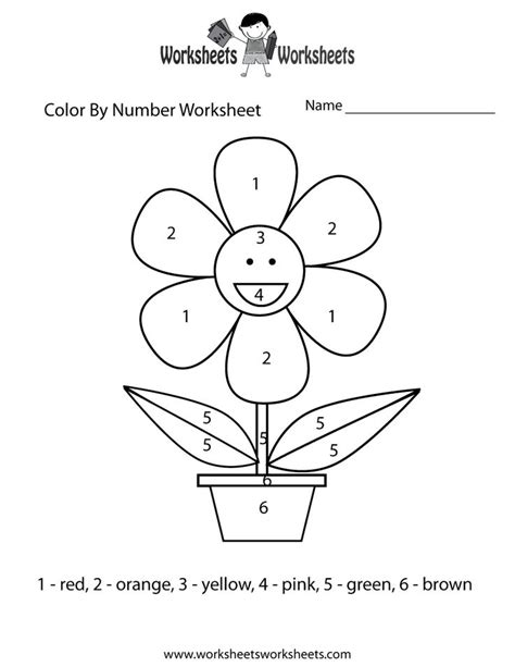 free worksheets and printables for kids education com coloring pages kids pinterest color by numbers