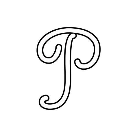 le piã lettere d lettere e numeri lettera p corsivo maiuscolo
