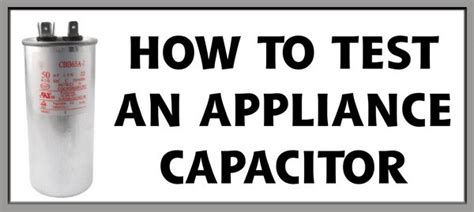 how to check a capacitor capacitor testing with multimeter images