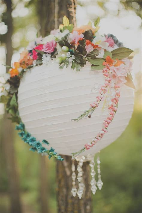 Lanterns Decorated With Flowers by The Fork Events Kitchen Bar