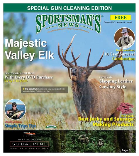 Garden And Gun Publisher Sportsman S News February 2017 Digital Edition By