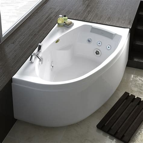 corner jacuzzi bathtub jacuzzi conforto offset corner whirlpool bath nationwide