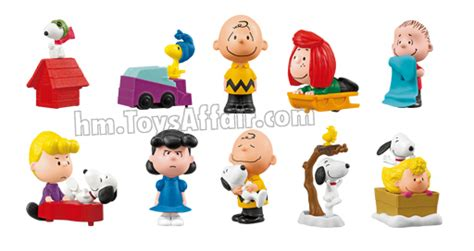 Happy Meal Snoopy Peanut Periode I the peanuts snoopy happy meal toys