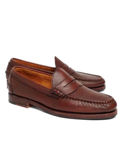 beef roll loafer brothers allen edmonds beef roll pebble