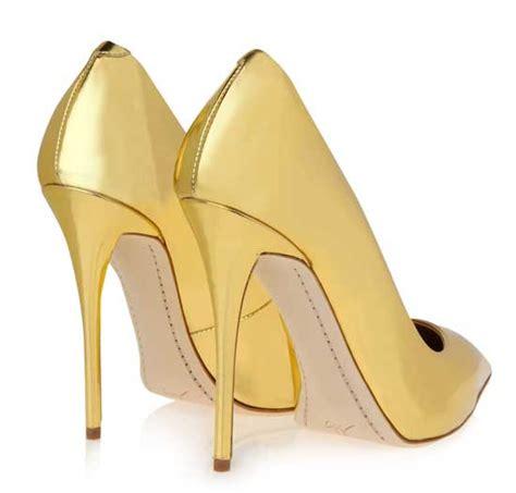 gold high heel pumps gold high heels pumps