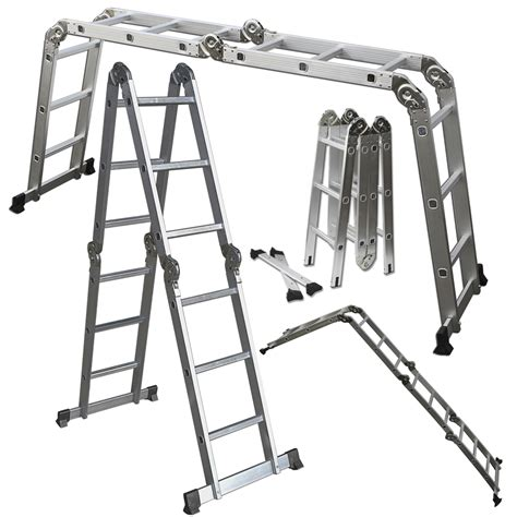 Multi Purpose Ladder scaffold ladder heavy duty aluminum 12 5 ft multi