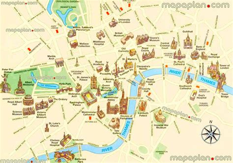 attractions in map maps update 16001127 tourist attractions in map