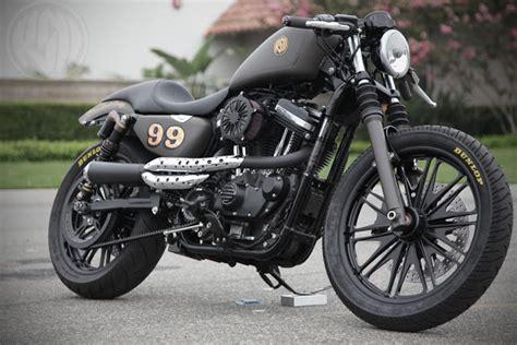 Chopper Motorr Der Mit 48 Ps by Milchapitas Kustom Bikes Harley Davidson Sporster 1200
