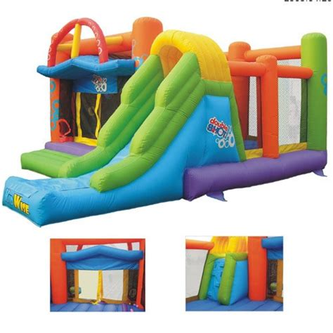 commercial bounce house double shot commercial inflatable bounce house
