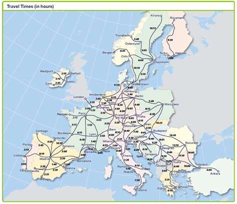 eurail map image gallery eurail map