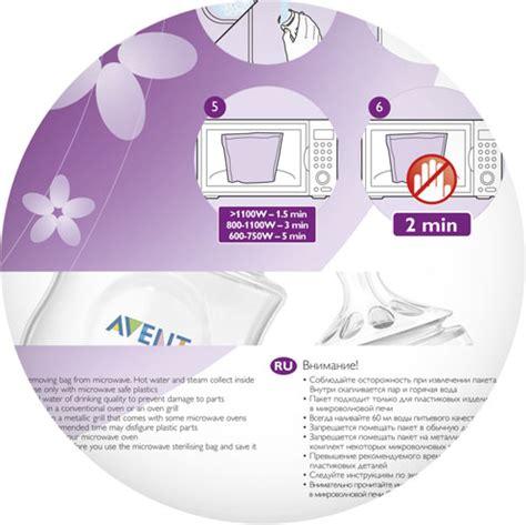 Avent Microwave Sterilizer philips avent microware sterilising bags 5pcs pack