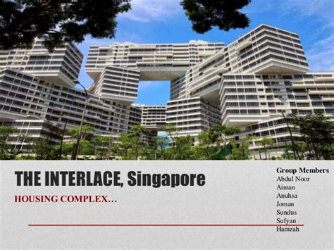the amazing interlace housing complex in singapore the interlace singapore