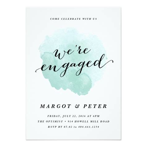 engagement invitation templates 25 best ideas about engagement invitation template on