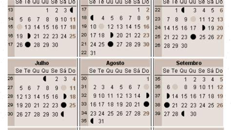 Calendario C Lua Calend 225 Lunar 2017 A Gravidez