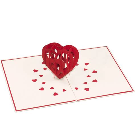Charm Card Template by Big Pop Up Card 3d Card Wholesale Wedding