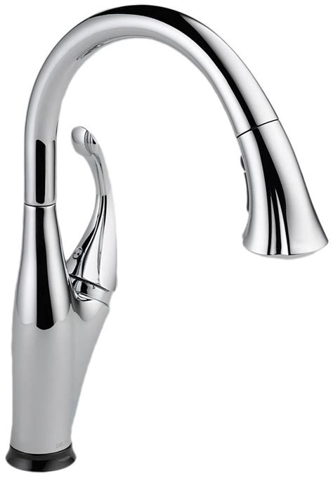 delta kitchen sink faucet delta 9192t sssd dst review single handle touchless kitchen faucet