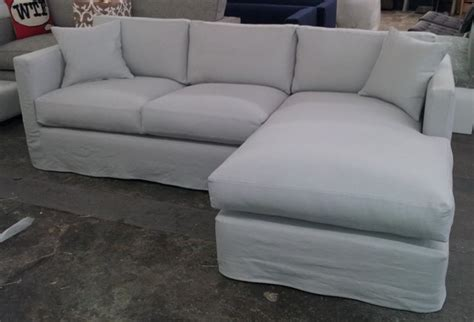 Slipcover Sofa Sectional Custom Slipcover Sectional Eclectic Sectional Sofas Los Angeles By Sofas Tables And More